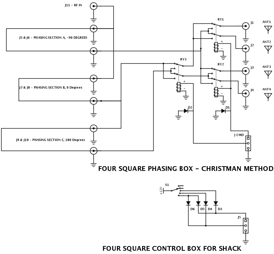 4-square-Christman-method circuit
