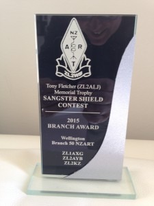 Branch Award for Sangster Shield Contest